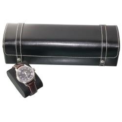 Coffret 5 montres Cuir Noir London5 Friedrich