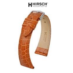 Bracelet Hirsch ARISTOCRAT Marron Doré 18mm