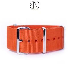 Bracelet de montre NATO 24mm Orange