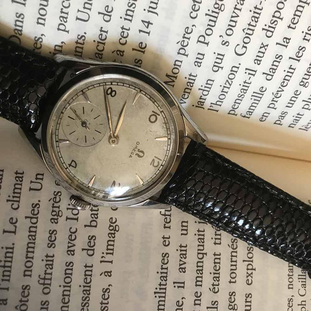 bracelet montre lezard noir