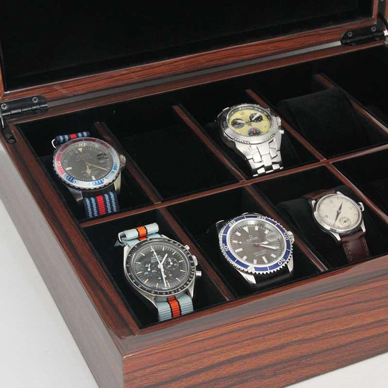boite 10 montres bois