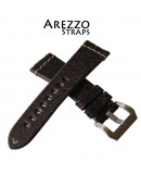 Watchstrap Arezzo Crackle 22mm Buffalo Leather