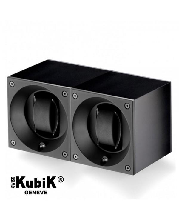 Double watchwinder Swiss Kubik Single Original - Black