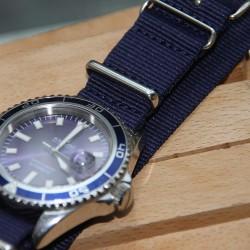 NATO Strap dark blue 20mm