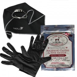 Polishing Set Gloves Microfiber and Cape Cod