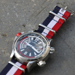 NATO Strap 20mm Blue White Red French Flag