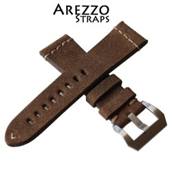 Arezzo Strap HORSEMAN 20mm Nubuck de Cheval Naturel