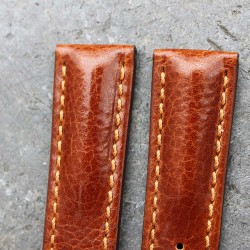Bracelet Hirsch LUCCA Marron Doré 22mm