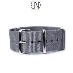 Bracelet de montre NATO 24mm GRIS