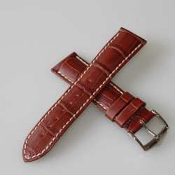 Watchstrap Hirsch DUKE black 20mm