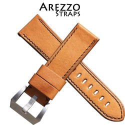 Watchstrap Arezzo MILITARE 24mm Light Brown