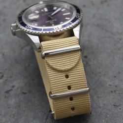 NATO Strap beige 22mm