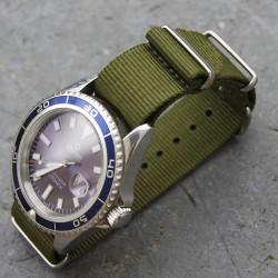 NATO Strap Kaki green 22mm
