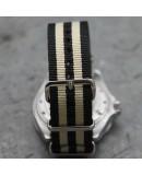 NATO Strap 20mm James Bond Black Beige