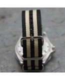 NATO Strap 22mm James Bond Black Beige