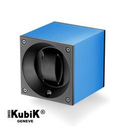 Watchwinder Swiss Kubik Single Original Saphire Blue