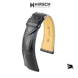 Watchstrap Hirsch London black 20mm Alligator