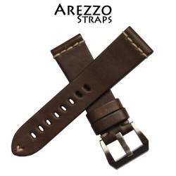 Bracelet Arezzo MARINA 24mm Marron Foncé
