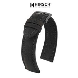 Bracelet Hirsch HERITAGE 22mm Gris Foncé