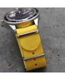 NATO Strap yellow 22mm