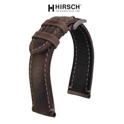 Bracelet Hirsch HERITAGE 22mm Marron foncé