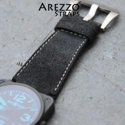 Watchstrap Arezzo HORSEMAN BR03 BR01 BLACK