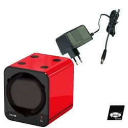 Set of 3 Boxy Winders Black Black Red