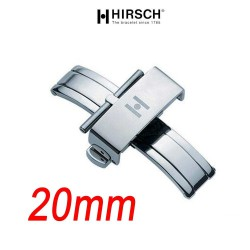 Buckle Hirsch PUSCHER 20mm Polished Stainless Steel