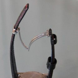 Boucle déployante Hirsch Sport acier poli hypoallergénique
