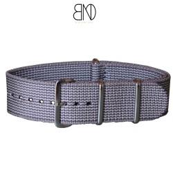 Bracelet NATO SAMSUNG 22mm Gris