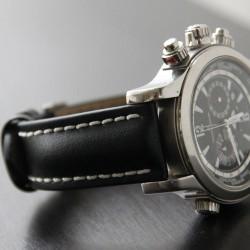 Watchstrap Hirsch Carbon Red 18mm