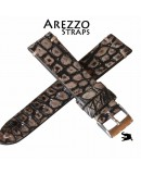 Arezzo DARKGATOR 20mm Alligator Beige