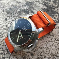 Bracelet de montre NATO 24mm Orange