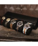 Watch Roll PRESTIGIUM5 black leather for 5 watch