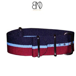 NATO Strap 20mm Blue Red and blue line