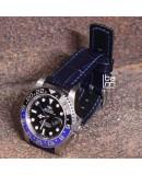 Watchstrap Hirsch Grand Duke Blue 22mm