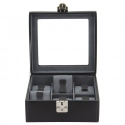 Black watchbox for 6 watches