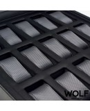 WOLF Windsor watchbox for 15 watches black