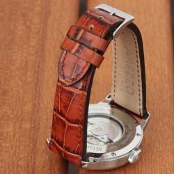 Watchstrap AREZZO PATINO honey 20mm