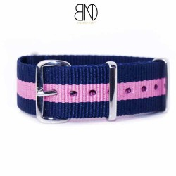 NATO Strap PINK and BLUE  20mm