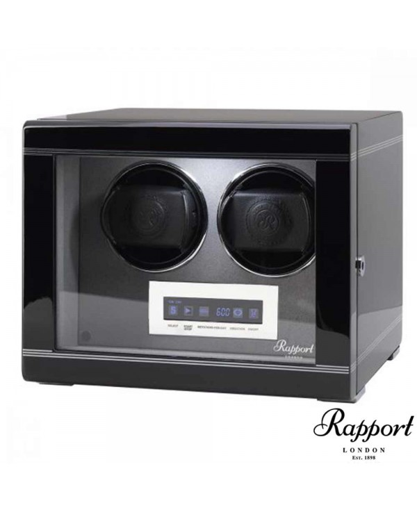 Watchwinder FORMULA DUO Rapport London Black