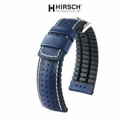 Watchstrap Hirsch TIGER Blue 20mm