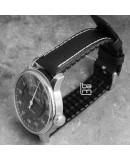 Watchstrap Hirsch TIGER RED 20mm