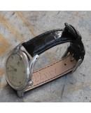 Watchstrap AREZZO Crocodile CLASSICO black 18mm