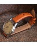 Watchstrap BIRDY OSTRICH honey 18mm