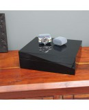 Watchbox black glossy for 10 watches AREZZO
