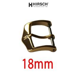 Watch Buckle Hirsch 18mm gold color