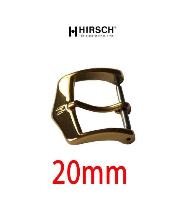 Watch Buckle Hirsch 20mm gold color