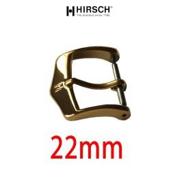 Boucle dorée 22mm Hirsch hypoallergénique