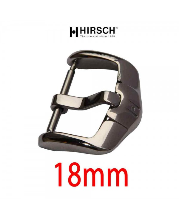 Buckle Hirsch 18mm ACTIVE stainless steel